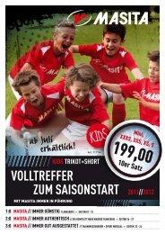 Siehe auch Masita Katalog 2011 Seiten 24 - Swiss Sportsystem