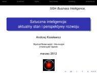 aktualny stan i perspektywy rozwoju - Uniwersytet Opolski