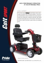 COLT SPORT - Pride Mobility Products
