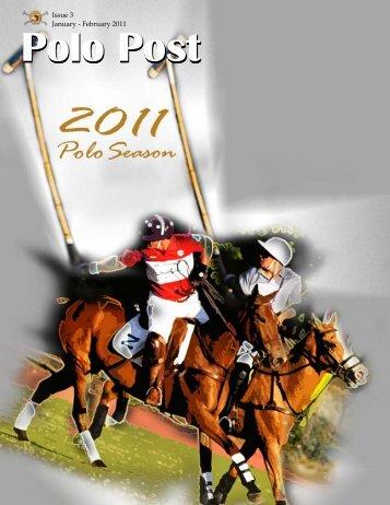 Issue 3 January - February 2011 - Manila Polo Club