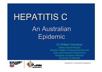 An Australian Epidemic