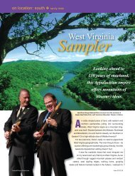 West Virginia.pdf - Leisure Group Travel