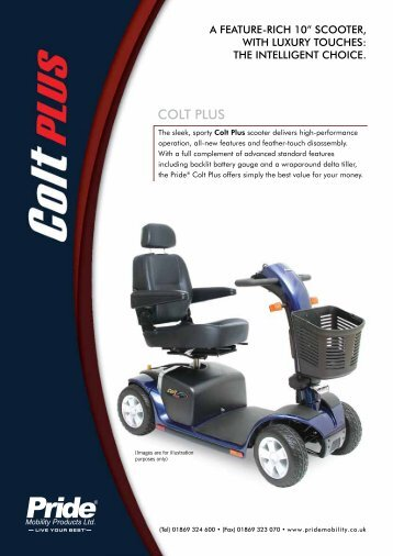 colt Plus - Pride Mobility Products