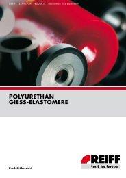 POLYURETHAN GIESS-ELASTOMERE - Roller Belgium