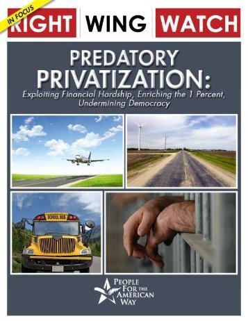 Predatory-Privatization