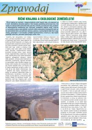 4/2009 - Říční krajina a ekologické zemědělství - Bioinstitut, o.p.s.