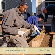 Download Annual Report - Twin Cities Habitat for Humanity