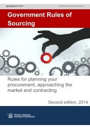 Government Rules of Sourcing [2 MB PDF] - Business.govt.nz
