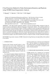 F-bar projection method for finite deformation elasticity and plasticity ...
