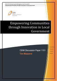Empowering Communities through Innovation in Local ... - CEMI