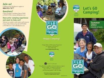 Let's GO Camping! - Oregon State Parks