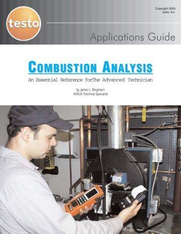 COMBUSTION ANALYSIS - Testo