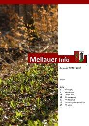 Gemeindezeitung - Aktuelles - Mellau