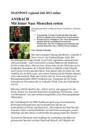 MAINPOST regional Juli 2013 online