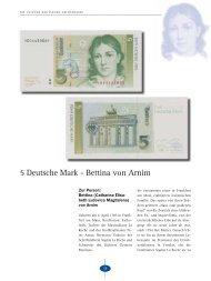 5 Deutsche Mark - Bettina von Arnim