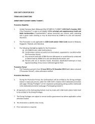UOB CHEF'S CREATION 2013 TERMS AND CONDITIONS UOBM ...