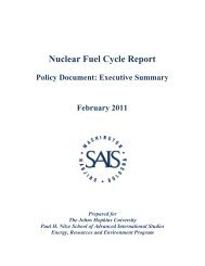 Nuclear Fuel Cycle Report - Blue Ribbon Commission on America's ...