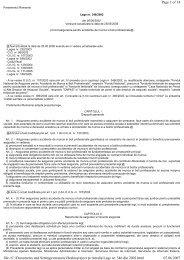 Lege nr. 346/2002 privind asigurarea pentru accidente de munca si ...