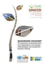 The Economics of Desertification, Land Degradation and Drought ...
