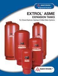 extrol®asme expansion tanks - Bombas Picsa