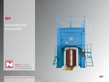 Automatischer Fasswickler - Oude Reimer BV