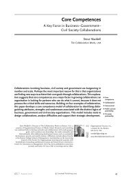 Core Competences - Greenleaf Publishing