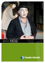 Spielzeit 11|12 - Theater Hameln - Stadt Hameln