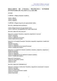 Reglament de l'EPSEVG - Campus de la UPC a Vilanova i la Geltrú ...