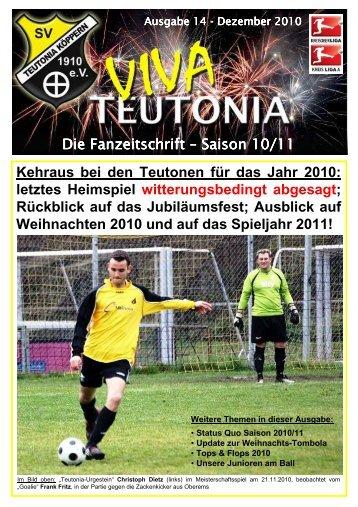 05.12.2010 Viva Teutonia Nr.14 - fortlaufend - Teutonia Köppern