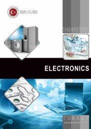 electronics - Republic of Turkey Ministry of Economy