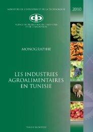 Industries Agro-Alimentaires - Tunisie industrie