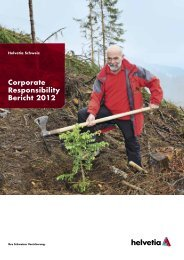 Corporate Responsibility Bericht 2012 - Global Reporting Initiative
