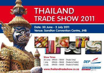 thailand trade show 2011