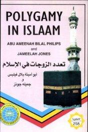 POLYGAMY IN ISLAAM - Muslim books org