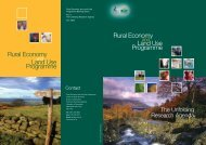 Download pdf - Rural Economy and Land Use Programme