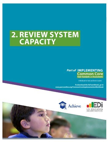Chapter 2: Review System Capacity - Achieve