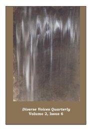 Diverse Voices Quarterly Volume 2, Issue 6