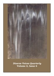 Diverse Voices Quarterly Volume 2, Issue 6