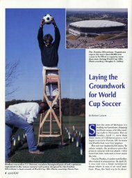 Laying the Groundwork for World Cup Soccer - About SportsTurf ...