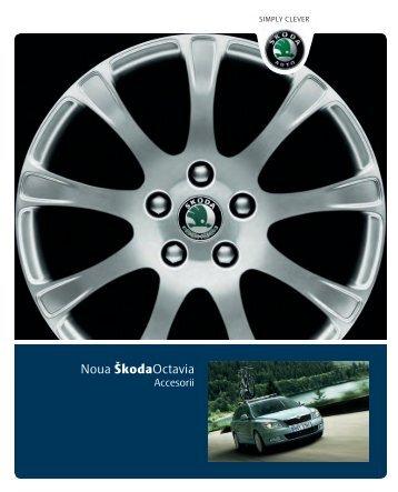 Descarca catalogul de accesorii Åkoda Octavia - Avia Motors