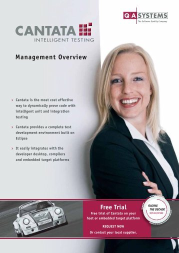 Management Overview (PDF) - QA Systems