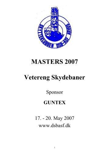 Day 2 Skytteklubben DSB/ASF Masters 2007 - Mir Shooting