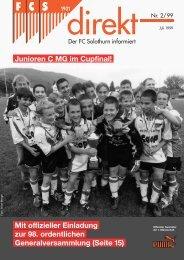 Junioren C MG im Cupfinal! - FC Solothurn