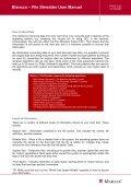 Blancco – File Shredder User Manual - Page 4
