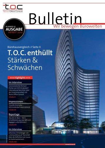 T. O. C. enthüllt - TOC Tecno Office Consult
