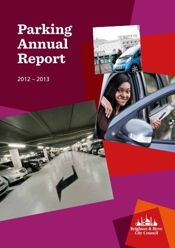 Parking Annual Report for 2012-2013