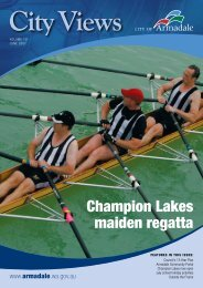 Champion Lakes maiden regatta - City of Armadale