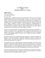 UNA DOBLE LECTURA DEL IMPERIALISMO Y LA CULTURA ...