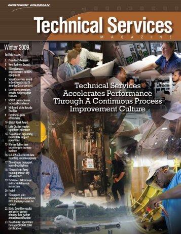 Technical Services Magazine • Winter 2009 - Northrop Grumman ...