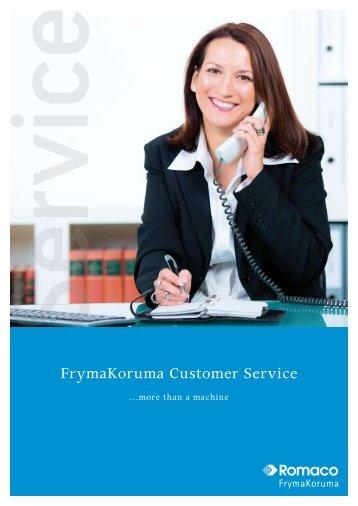 FrymaKoruma Customer Service